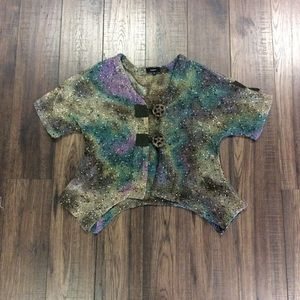 Kaktus Knit Mesh Top